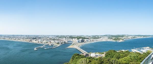湘南洋食器|江ノ島からの風景(湘南エリア)