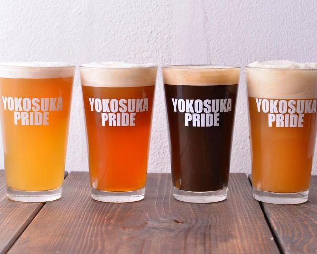 名入れグラス事例_横須賀ビール