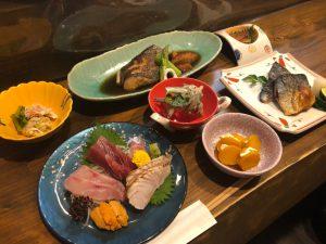実績 海鮮 和食 皿