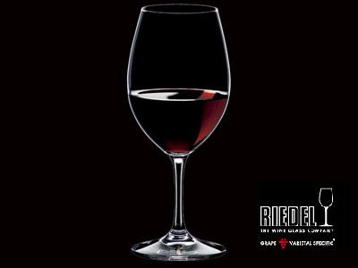 オヴァチュア リーデル レッドワイン