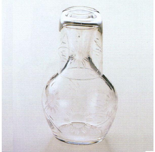 【冠水瓶】 花切子水瓶 スキ 2