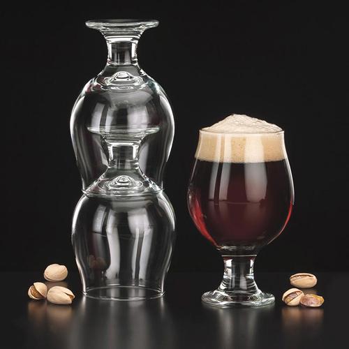 リビー|ビールグラス|スタッキングベルジャンビア NO.3817 296cc (6個パック)