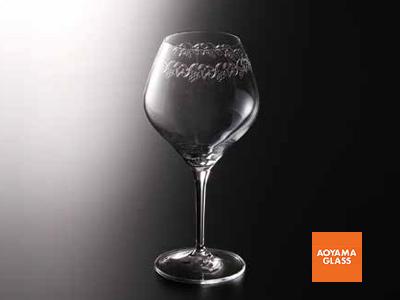 ワイングラス/【青山硝子】バッカス350-5 600cc