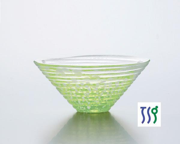 東洋佐々木ガラス | 和がらす | 41533 小鉢(かき氷・緑) (3個入)