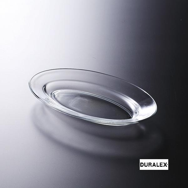 【ガラス小判皿】 リス 26cmオーバルプラター